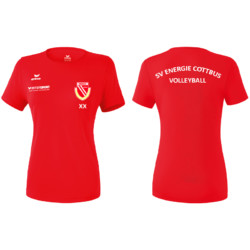 [sve-teamwear] ERIMA – FUNKTIONS-TEAMSPORT T-SHIRT – ROT – SV ENERGIE COTTBUS VOLLEYBALL – DAMEN3